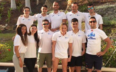 Campeonato de España absoluto natación adaptada por clubes